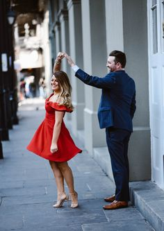 Engagement photos in New Orleans #thejohnsons