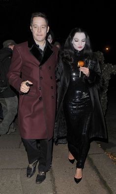 Pin for Later: Over 250 Celebrity Halloween Costumes!  Kate Moss and Jamie Hince stepped out together, in costumes of course, for a soiree in London in 2012.