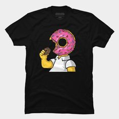 I Love Donuts is a T Shirt designed by MisfitInVisual and is available at Design By Humans Simpsons Funny, Baseball Tees, Trending Fashion, Donuts, Tank Man, Long Sleeve Tees, Shirt Designs, Hoodies, My Love