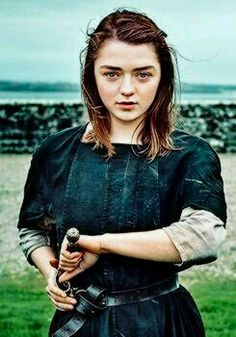 Arya Stark // Game Of Thrones // Maisie Williams Maisie Williams, Serie Got, Film Serie, Carl The Walking Dead, Game Of Trone, Game Of Thrones Cast, Game Of Thrones Characters, Cinema Tv, George Rr Martin