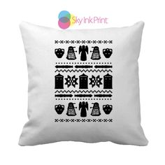 Doctor Who Quotes4 Throw Pillows, Pillow Covers, Pillow Cases, Decorative Throw Pillows, Decorative Pillows ( 1 or 2 Side Print With Size 16, 18, 20, 26, 30, 36 inch )