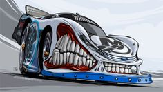 Tanner Whitten's Beastly Ford by Andrey Pridybaylo, via Behance