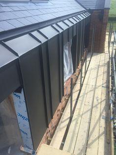 House Cladding, Facade House, Metal Facade, Metal Roof, Modern Exterior, Exterior Design, Roof Design, House Design, New Build Developments