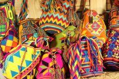 Artisanat local des Wayuu Mochila bag Colombie