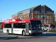 Gillig hybrid BRT