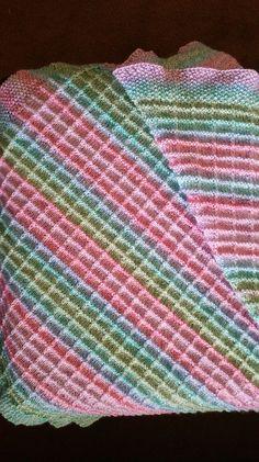 Ravelry: Box Stitch Baby Blanket by TinkTerp Designs