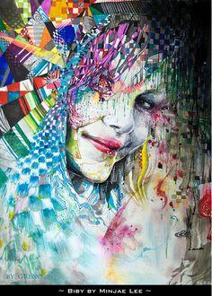 Creative Illustrations by Minjae Lee
