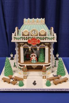 """Gorgeous """"gingerbread"""" house"""