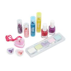 My Princess Academy Backpack with Kids' Cosmetic Set Princess Academy, Cosmetic Sets, Lip Gloss, Nail Polish, Eyeshadow, Lips, Cosmetics, Backpacks, Let It Be