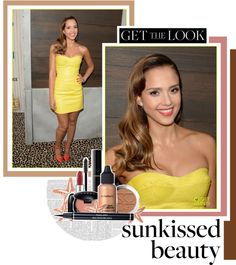 """Get the Look: Sunkissed Beauty Edition"" by karina-zahra on Polyvore"