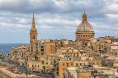 And here, Valletta in Malta.