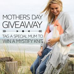 TAG a special mum or mum to be for your chance to WIN a ONE SIZE FITS ALL Bijou MYSTIFY KNIT Kimono in your fave colour  Valued at 89.95!  You must be following @bijou_the_label & you can enter as many times as you like  Our lucky WINNER will be announced TONIGHT!  Happy Mother's Day & good luck X