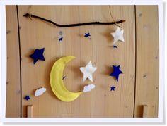Sorgt für süße Träume: Unser selbstgemachtes Mobile fürs Kinderzimmer.