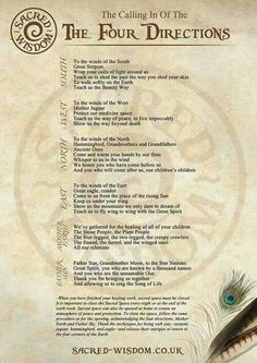This is the Native American calling of the Four Directions, which is a ritual involving praying to the four directions, or to the spirits of the world, to life and the Great Spirit. The Medicine Wheel is a symbol that represents the four directions.