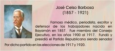 Jose Celso Barbosa 1857 - 1921