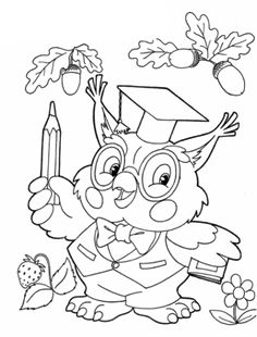 Beautiful owl coloring pages for your little one. They are free and easy to print. Owl Coloring Pages, Disney Coloring Pages, Coloring Pages For Kids, Coloring Sheets, Adult Coloring, Coloring Books, Free Coloring, Painting Sheets, Mandala