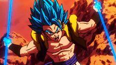 Anime GiFs Dragon Ball Z, Dragon Z, Manga Anime, Yandere Anime, Dbz Gif, Graffiti Wildstyle, Broly Movie, Gogeta And Vegito, Super Movie
