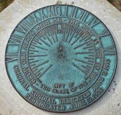 """Grow old along with me... The best is yet to be""- Penn State sundial"