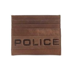 d0f09cab 34 Best Wallets & Money Clips images | Wallets, Police, Wallet