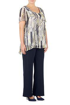 Ann Harvey Heavy Jersey Crepe Trousers