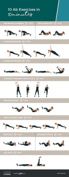 10 Ab Exercises in 10 Minutes! Do this at-home workout for a serious ab burn 10 Ab Exercises in 10 Minutes! Do this at-home workout for a serious ab burn 10 Min Ab Workout, Ultimate Ab Workout, Six Pack Abs Workout, Lower Ab Workouts, Abs Workout Routines, Abs Workout For Women, At Home Workouts, Workout Plans, Fat Workout