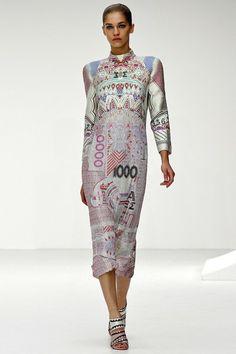 Mary Katrantzou Spring 2013 Ready-to-Wear Collection Photos - Vogue