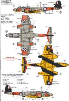 Ww2 Aircraft, Military Aircraft, Gloster Meteor, Royal Air Force, Air Show, War Machine, World War Two, Plane, Transportation