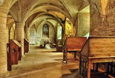 Rufford Abbey  Undercroft by Colin'sPic's, via Flickr