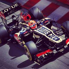 Kimi on track - Monaco GP