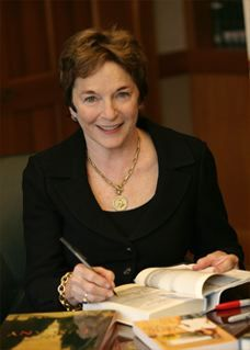 Frances Mayes, Author of Under the Tuscan Sun and several other best selling books. One of my favorite authors.