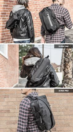 X-PAK™ | The Ultimate Backpack Alternative by CODE OF BELL — Kickstarter Edc Tactical, Tactical Sling, Backpack Bags, Sling Backpack, Bag Organization, Cool Toys, Outdoor Gear, Leather Bag, Alternative