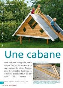 1000 id es sur le th me maison pour enfants palettes sur - Construire une cabane de jardin avec des palettes ...