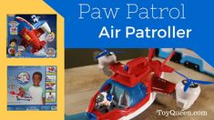 PAW PATROL AIR PATROLLER | Toy Unboxing Paw Patrol Rescue, Ryder Paw Patrol, Rescue Dogs, Paw Patrol Coloring Pages, Airplane Toys, Dinosaur Funny, Adventure Of The Seas, Toys Uk, Number 7