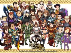 In the World Of Monster Hunter by ashmish on DeviantArt