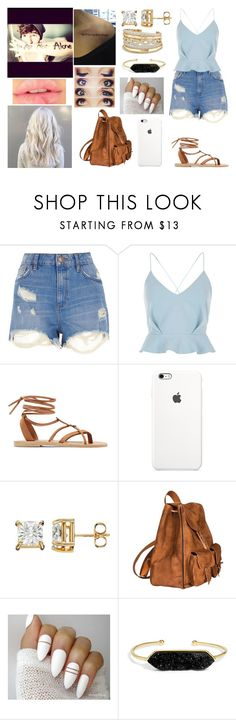 """Say yes to new adventures!"" by jblover-1fan on Polyvore featuring River Island, Valia Gabriel, Yves Saint Laurent, BaubleBar and David Yurman"