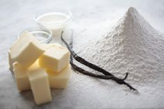 Ingredients for Georgetown Cupcake's Vanilla Buttercream Frosting (photo credit: Dayna Smith)