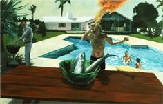 Barbecue - Eric Fischl, 1982