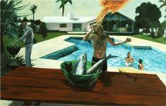 Barbecue - Eric Fischl, 1982