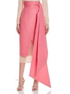 'aine' high-waist wrap skirt aq/aq s.s2016