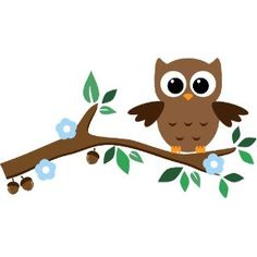 Epic Designs Cute Baby Owl Wall Stickers with Leaves, Flower, and Branch - Removable Decoration Wall Decal. Cute Wall Art Wall Wall Saying Cute Baby Owl, Baby Owls, Art Drawings For Kids, Drawing For Kids, Cute Stickers, Wall Stickers, Owl Themed Nursery, Owl Wall Decals, Wall Mural
