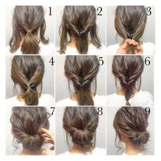 Clinical hairstyle