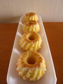 Konyhavirtuóz: Joghurtos-citromos minikuglóf Ring Cake, Savarin, Pound Cake, Cake Cookies, No Cook Meals, Scones, Doughnut, Bakery, Muffin