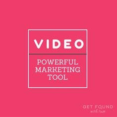how to use video marketing in your creative business? don't feel overwhelmed by implementing video in promoting your small business, learn some easy ways and where you can learn video