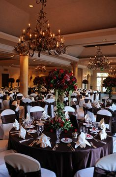 Beautiful wedding receptions exist at Spanish Hills Country Club.  Spanish Hills Country Club wedding reception. http://officiantguy.com/wedding-venues/ #camarilloweddings #officiants #countryclubs