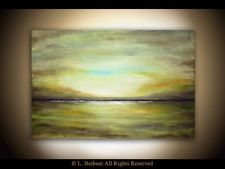 ABSTRACT PAINTING LANDSCAPE LARGE ORIGINAL CONTEMPORARY WALL ART...