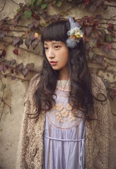 """So what would you call it when Asian street fashion goes """"off-roading""""...or becomes """"unplugged""""?  Japanese call it Mori kei or forest style. It's a softer gentler approach to living. Nice!  -Lily.   #japanese #style #morikei"""