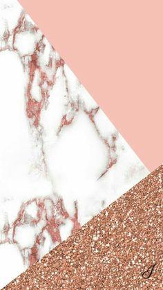 Marbled and rose gold wallpaper - Lindsay Scherger - Handy hintergrund - Tumblr Wallpaper, Screen Wallpaper, Cool Wallpaper, Wallpaper Backgrounds, Trendy Wallpaper, Fashion Wallpaper, Backgrounds Marble, Cute Backgrounds For Iphone, Rose Gold Backgrounds