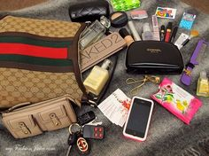What In My Bag, What's In Your Bag, What's In My Backpack, Inside My Bag, What's In My Purse, Purse Essentials, Divas, Wallets For Women Leather, Busy Bags
