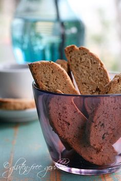 Allergy Free Anise Biscotti