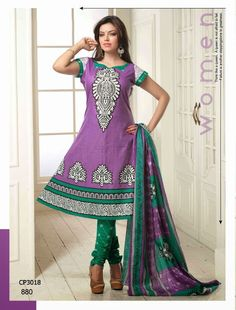 Simple Cotton Purple Designer Dress Material with discount Salwar Suits Party Wear, Party Wear Dresses, Womens Clothing Stores, Clothes For Women, Casual Wear, Casual Dresses, Suit Fabric, Churidar, Anarkali